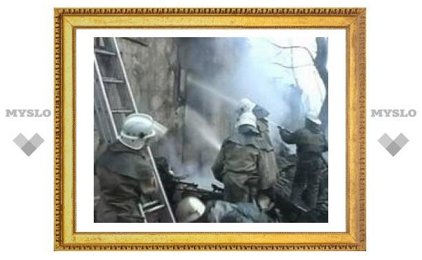 Под Тулой сгорело 16 дач