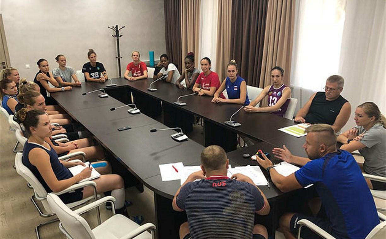 Волейбольная «Тулица» выбрала нового капитана на сезон 2018-19