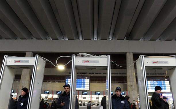 Пассажиров поездов будут досматривать перед посадкой в вагон