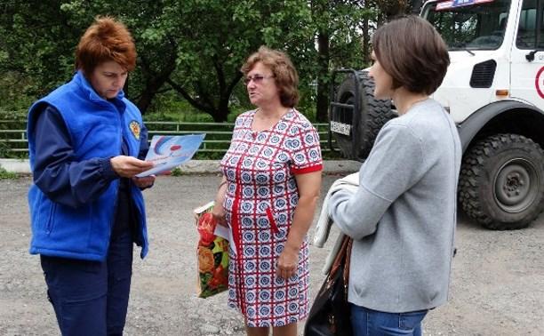 Сводный отряд ФМБА России развернул «Выездную поликлинику» в Одоеве