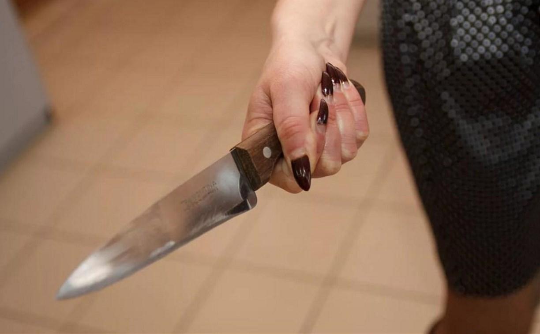 Тулячка напала с ножом на своего сожителя