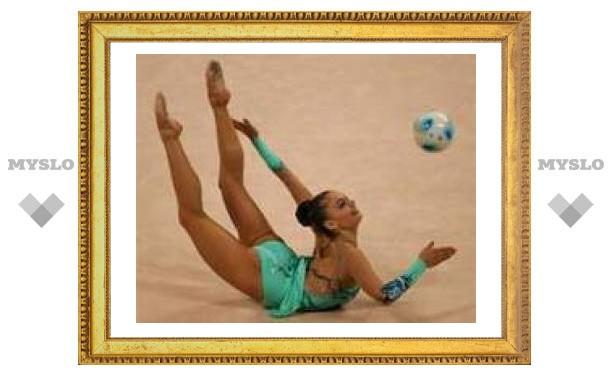 Образцова - лучшая гимнастка Тулы