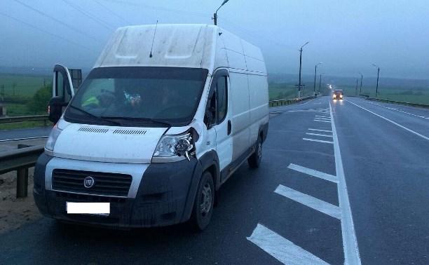 На трассе «Крым» водитель Fiat сбил пешехода