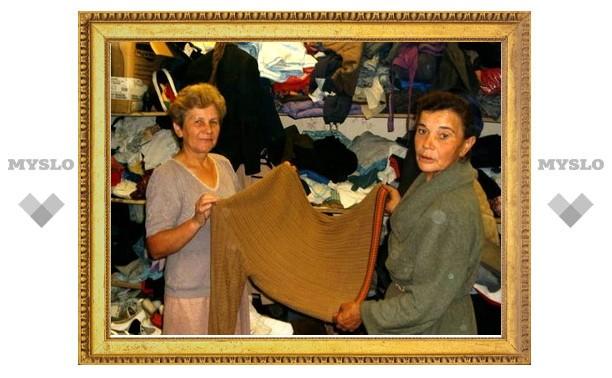 Жители Новомосковска помогут рязанским погорельцам
