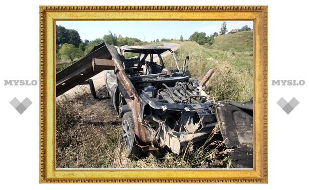 Дым от сгоревшей машины был виден за несколько километров