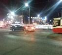 На улице Советской из-за ДТП встали трамваи
