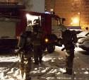 Пожарные спасли девушку из горящей квартиры
