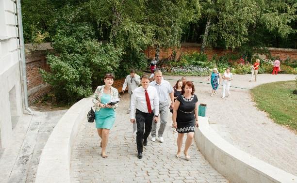 В 2015 году начнется благоустройство парка Богородицкого дворца-музея
