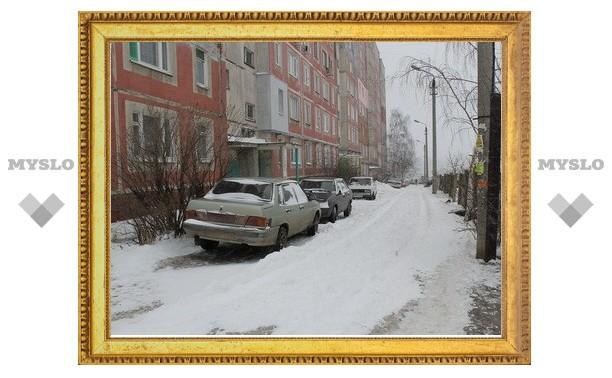 Управляющие компании убрали от снега 1146 дворов