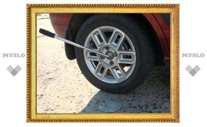 Тульские полицейские задержали подозреваемого в краже колес