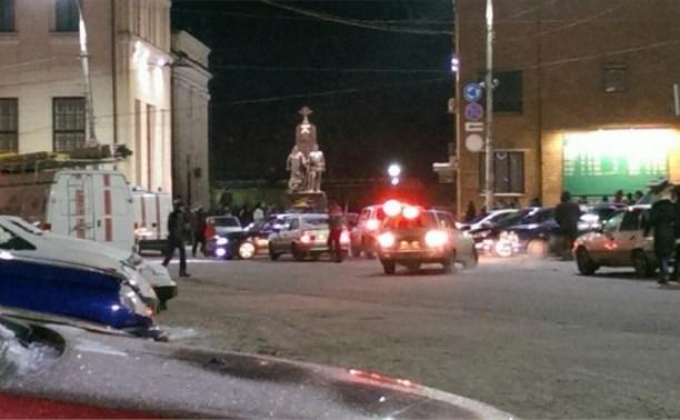 Телефонные террористы сообщили о минировании Московского вокзала