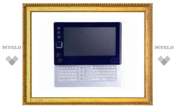 Gigabyte выпустит UMPC со встроенной клавиатурой