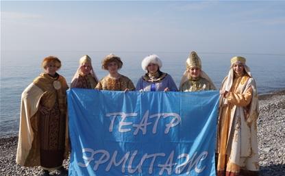 Тульский театр «Эрмитаж» развлекал болельщиков на Олимпиаде