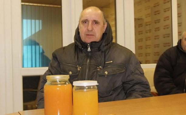 Жители посёлка Приупский: Угадайте, что течёт у нас из-под крана?