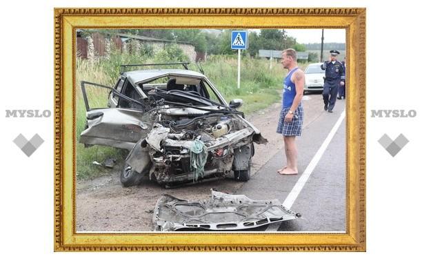 Водитель «Жигулей» чудом выжил в страшной аварии