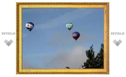 Над Тулой снова полетели шары