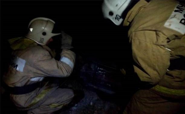 В Алексинском районе столкнулись автомобиль и мотоцикл