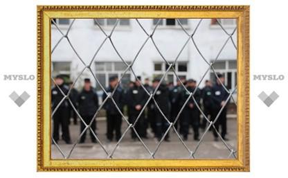 В Тульской колонии повесился заключенный