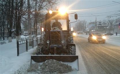 Этой ночью все дороги Тулы и области расчистят от снега