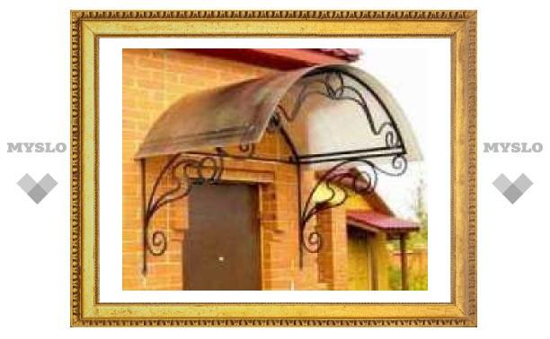 В тульских домах отремонтируют козырьки