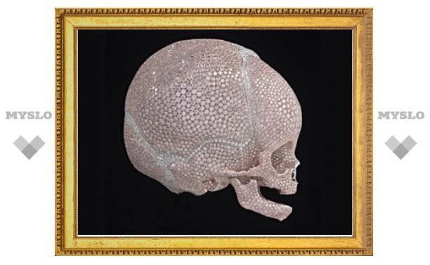 Дэмиен Херст отлил новый череп из платины