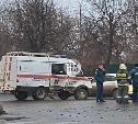 В Туле попала в аварию машина МЧС