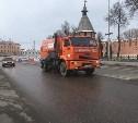 Тулу очищают от дорожных реагентов