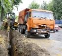 В Щекино строят ливневку, чтобы избавиться от «стабильной» лужи