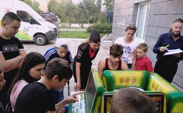 Сотрудники ГИБДД провели для юных туляков «Дорожный марафон»