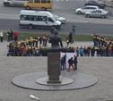 В Туле прошел флешмоб в поддержку Олимпийских зимних игр 2014 года в Сочи