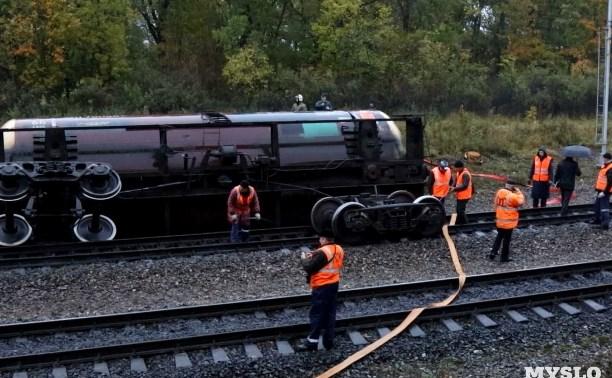 По факту аварии на железной дороге в Тульской области возбуждено уголовное дело