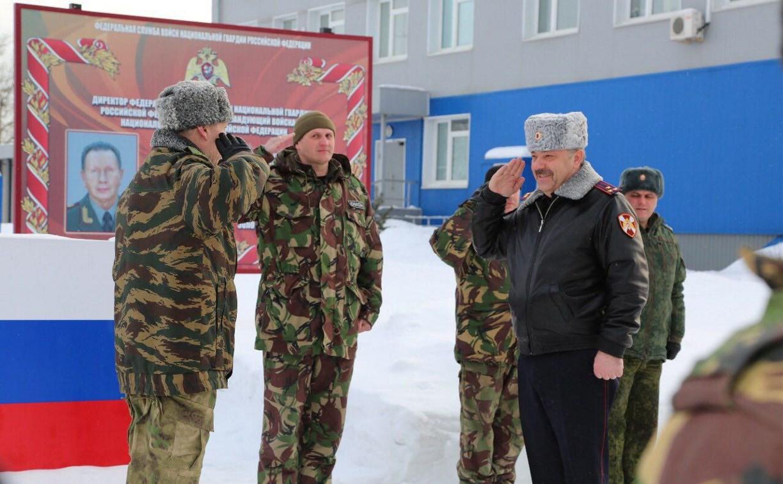 Тульские бойцы СОБРа и ОМОНа вернулись с Северного Кавказа