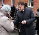 Губернатор Владимир Груздев вручил ключи от квартир новосёлам в Узловском районе