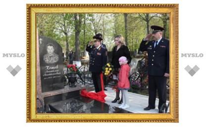 В Туле открыли памятник полицейскому
