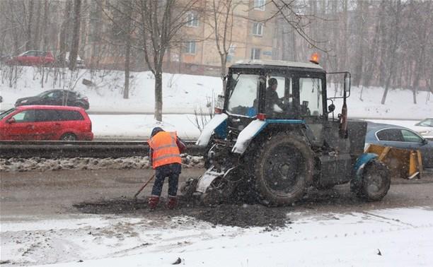 В Тульской области сформирован план ремонта дорог на 2016 год