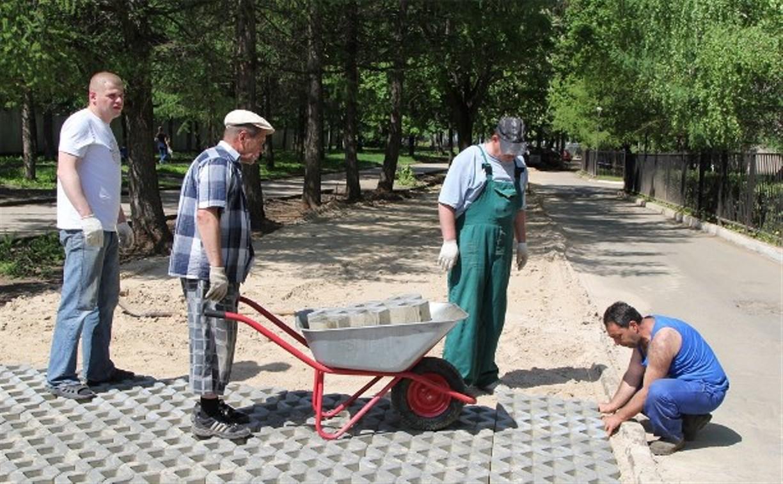 На ул. Фридриха Энгельса в Туле появится экопарковка
