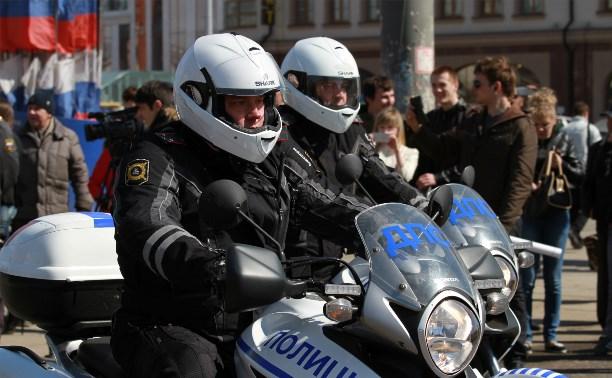 Рейд мотогруппы ГИБДД в Щекино выявил 15 нарушений ПДД