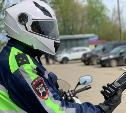 На дорогах Новомосковска за порядком следит мотогруппа ГИБДД