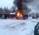 Из-за короткого замыкания за сутки в области сгорели три автомобиля