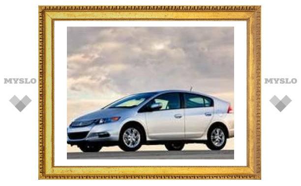 Первое изображение серийного Honda Insight - самого дешевого гибрида в мире