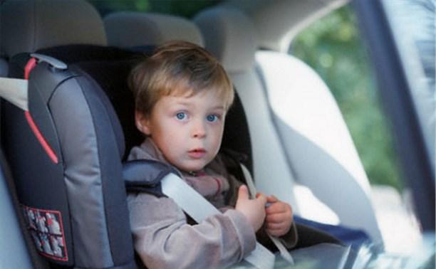 Тульское УГИБДД проведет рейд «Ребенок-пассажир»