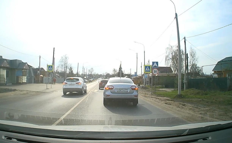 «Накажи автохама»: автоледи на Nissan Qashqai дважды нарушила ПДД