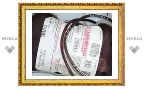 В России создадут единую базу доноров крови