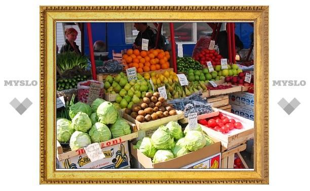 Тульский рынок самовольно занял муниципальные земли