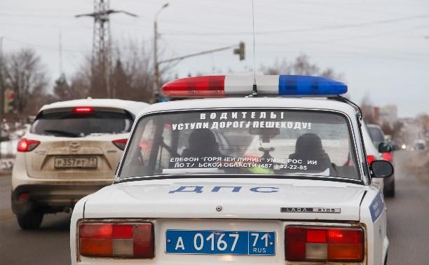 С начала года в Тульской области произошло 46 ДТП с пешеходами