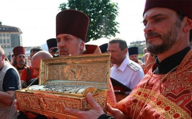 В Тулу принесены мощи святого великомученика Георгия Победоносца