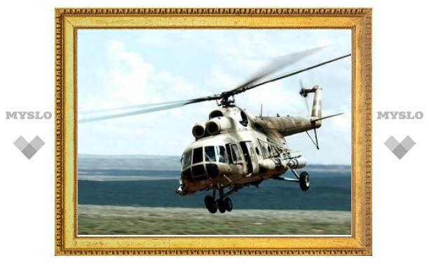 В Чечне обстреляли вертолет Минобороны