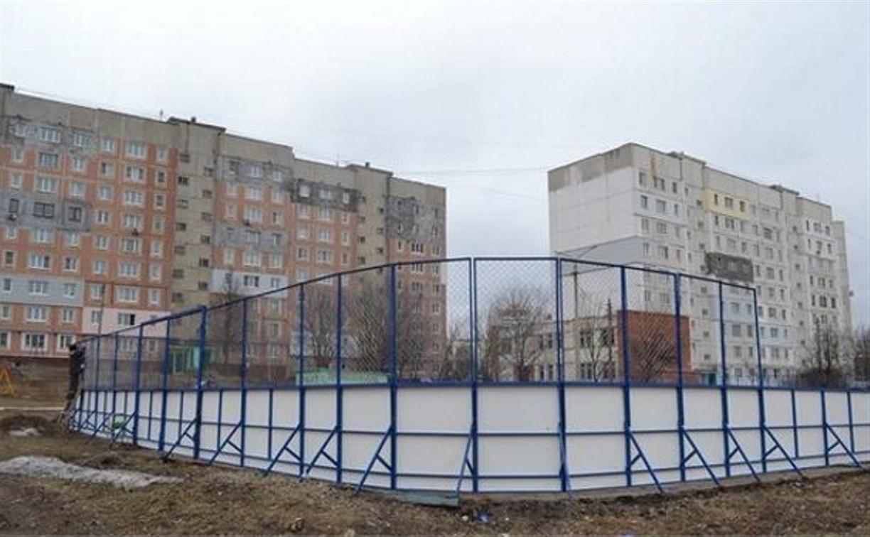 В Пролетарском районе установят новые хоккейные коробки
