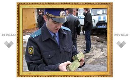 Под Тулой задержан торговец оружием
