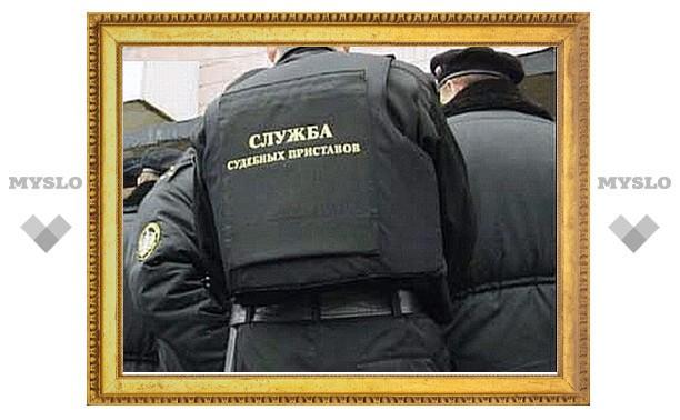 В Туле задержали недобросовестного пристава